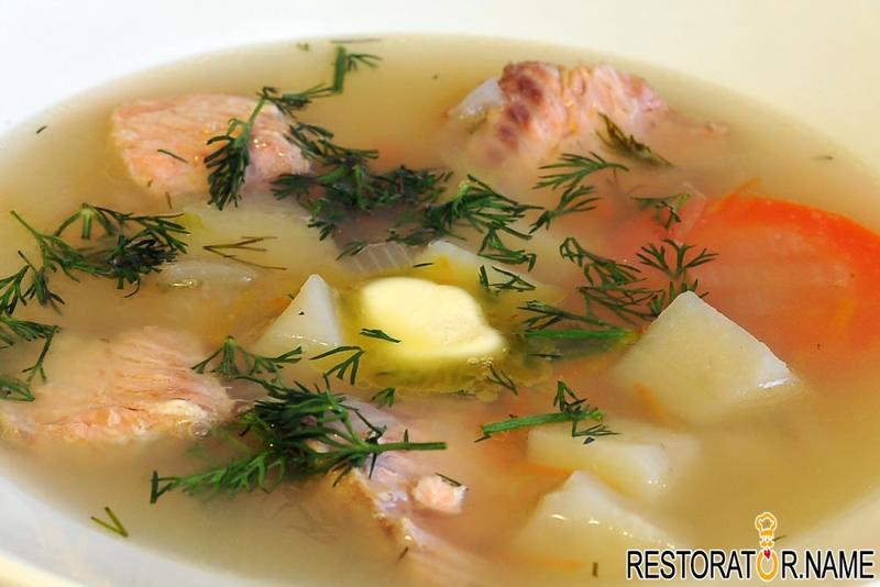суп из головы кеты рецепт с фото