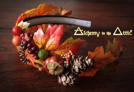 Ободок своими руками на праздник осени