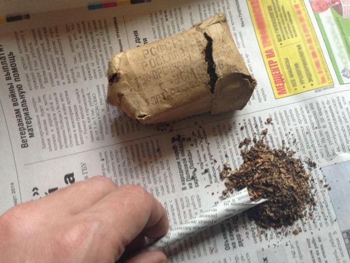 Как сделать самокрутку из газеты и чая