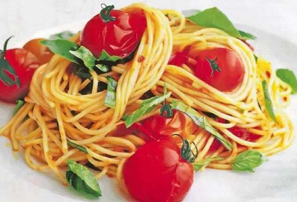 паста с помидорами и сыром рецепт фото