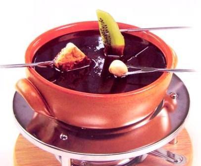 Шоколадное фондю рецепт с фото