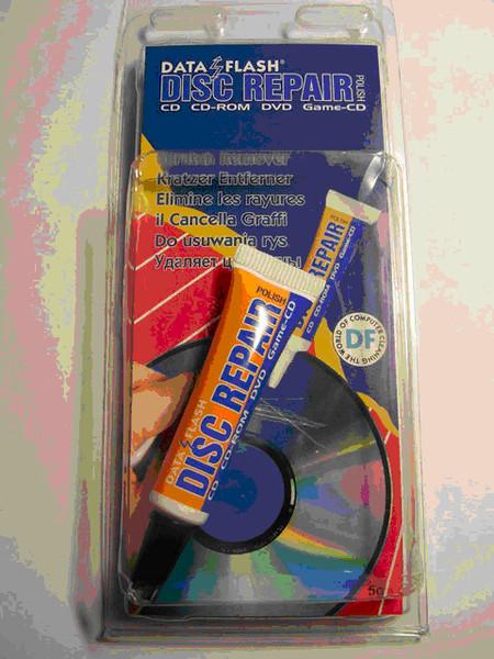 Удаление царапин с дисков