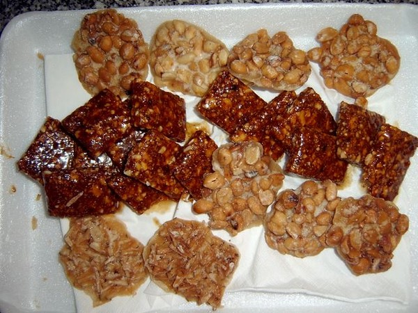 Козинака из арахиса в домашних условиях