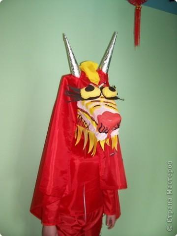 Как сделать костюм дракона из картона