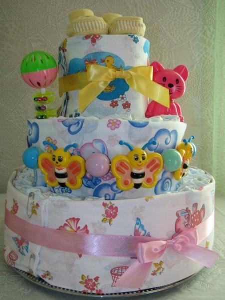 Как сделать торт рождение ребенка