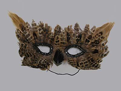 Сова маска своими руками