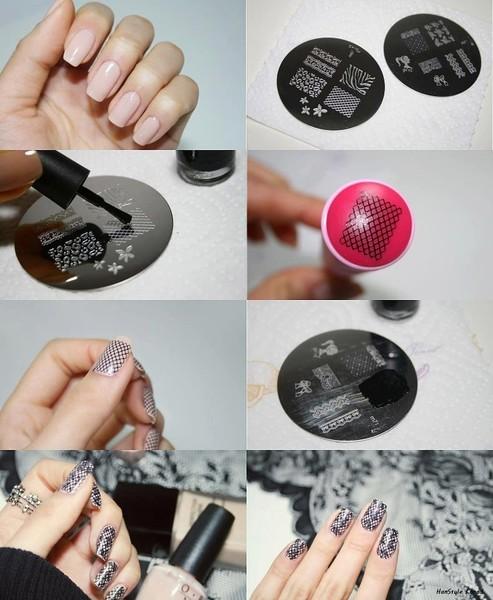 Из чего сделать штамп для стемпинга своими руками