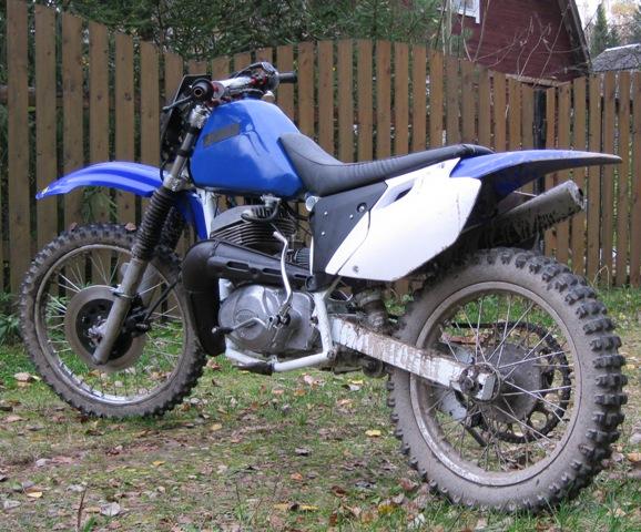 Мотоциклы эндуро своими руками 69