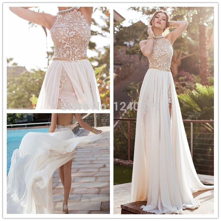 Короткое платье с длинной юбкой