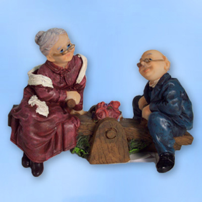 Фигурки бабушки и дедушки своими руками