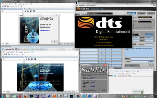 Скачать Sonic Scenarist BD 3D 5.7.0 + Serial + Bonus 2012, Eng.