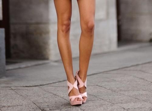 Как сделать красивые ноги если они худые
