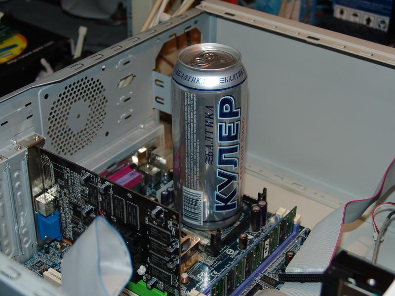 Кулер на процессор своими руками