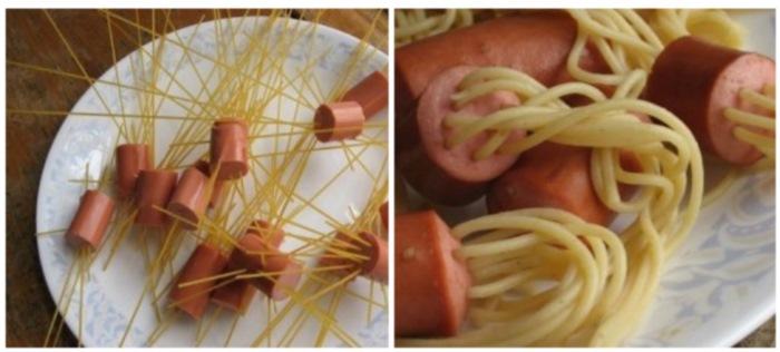 Рецепт из макарон быстро и вкусно