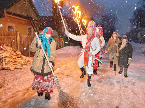 Русские традиции рождества и нового года