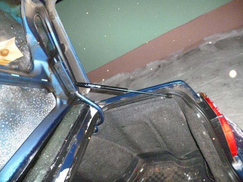 Как сделать крышку багажника ваз-2115