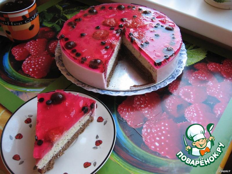 Как сделать йогуртовый торт фото