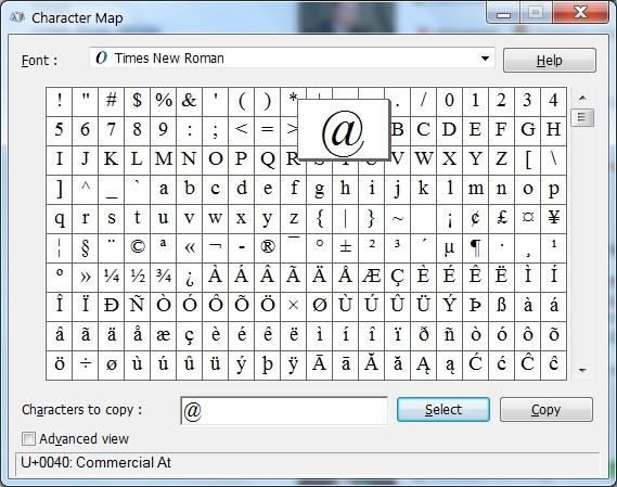 Как на клавиатуре сделать знак собака