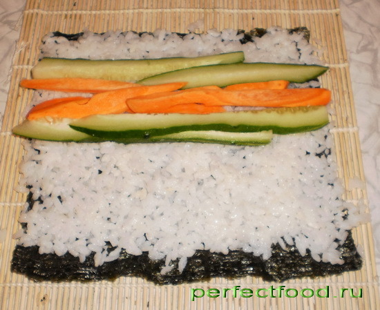 Начинки для суши дома рецепты