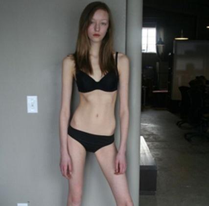 Фотосессия для худой девушки