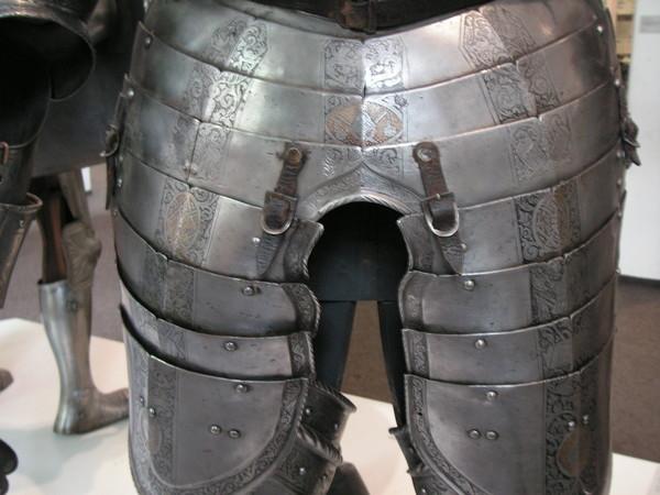Как сделать железные штаны