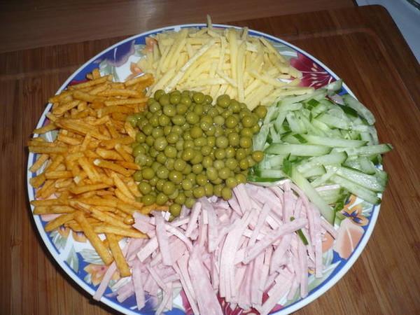 Салаты рецепты быстрое приготовление