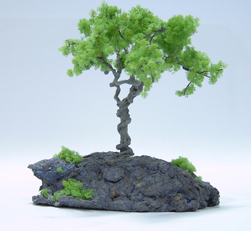 Макет дерева своими руками