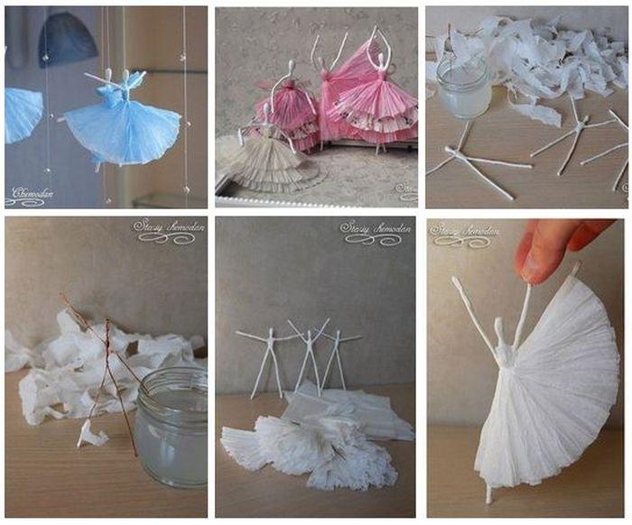 Что или кого можно сделать своими руками из бумаги