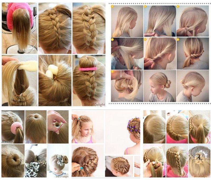 Ответы@Mail.Ru: Подскажите название лёгкой причёски за пару минут.