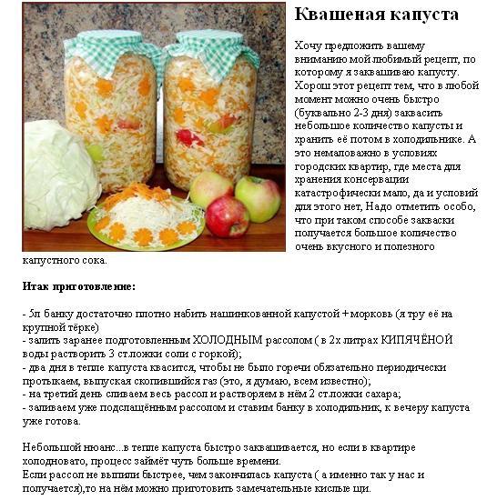 Правильный рецепт квашеной капусты