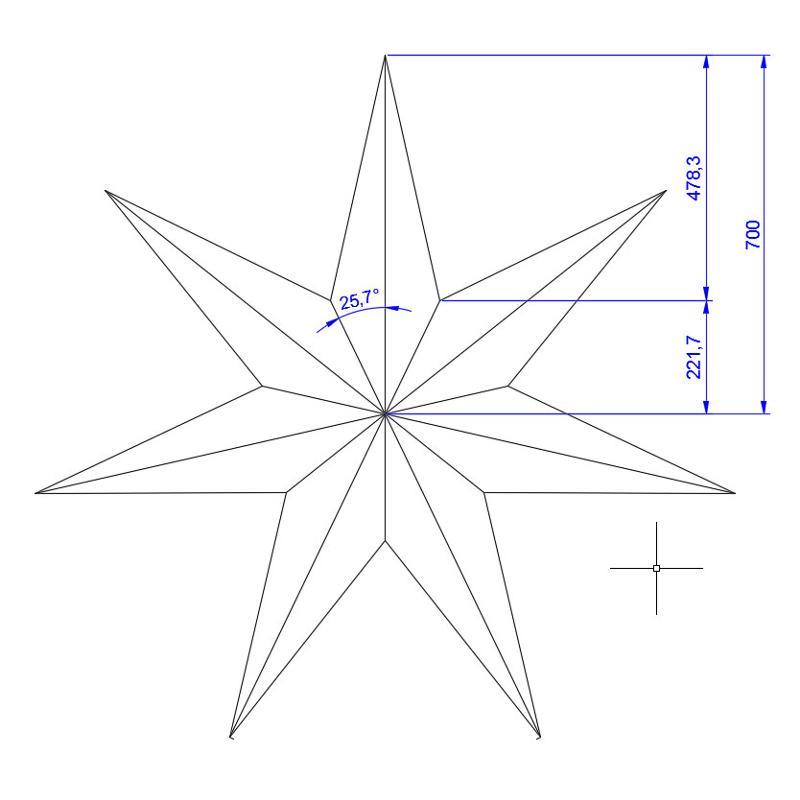 Как сделать из бумаги открытку звезду 117