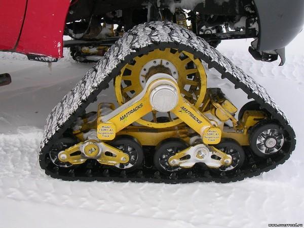 Как сделать гусеницу для колеса