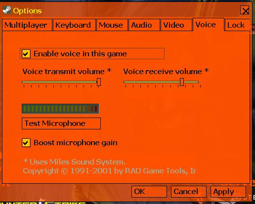 Как сделать так чтобы было слышно игроков в кс