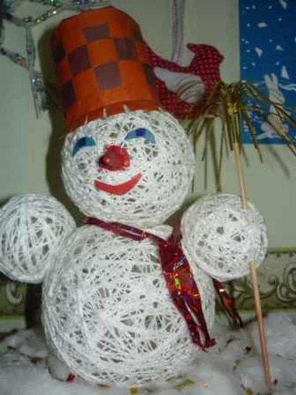 Детские елочные игрушки своими руками в детский сад