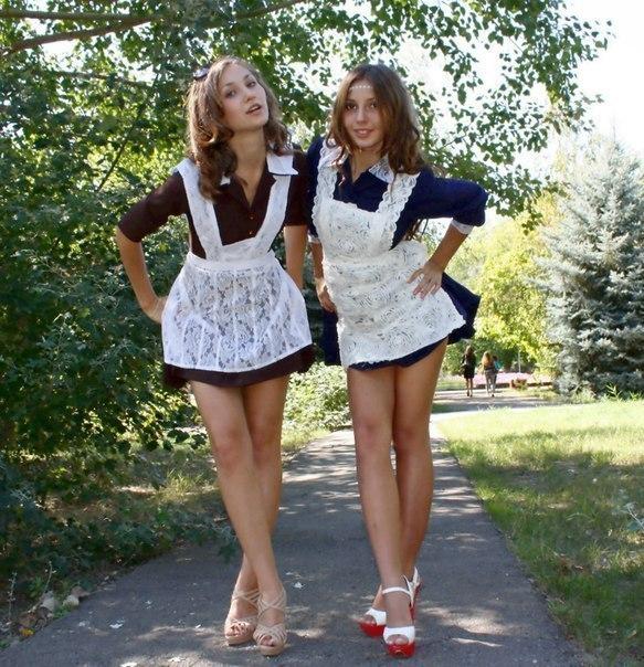 российские выпускницы сняты
