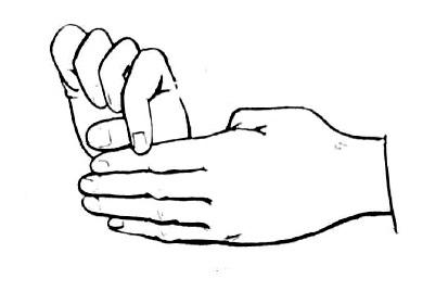 Как сделать фокус пальцами