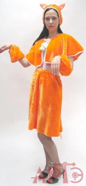 Взрослый костюм лисы своими руками для детского утренника
