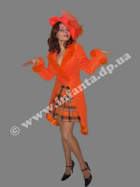 Костюм лисы алисы своими руками