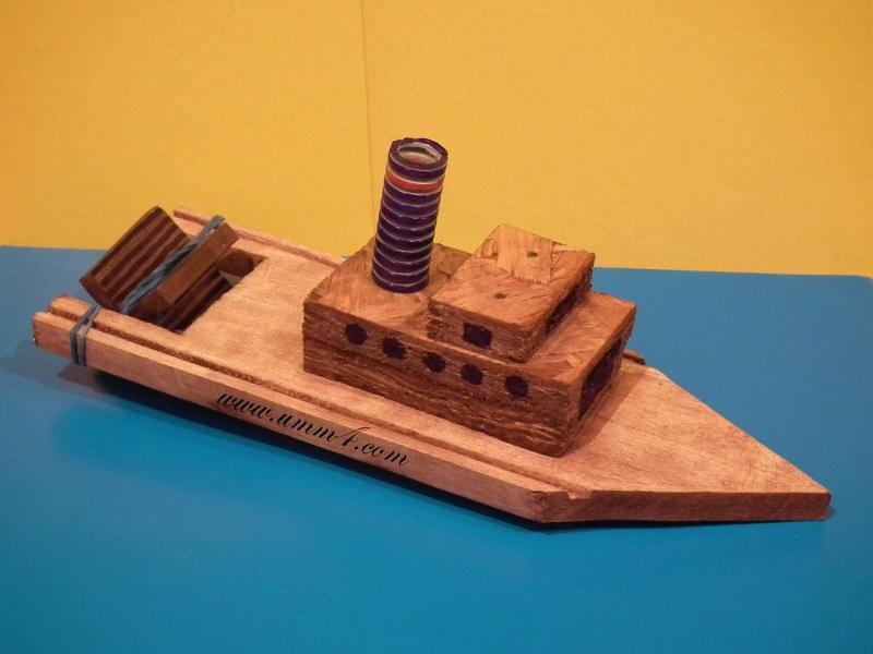 Сделать своими руками кораблик из дерева