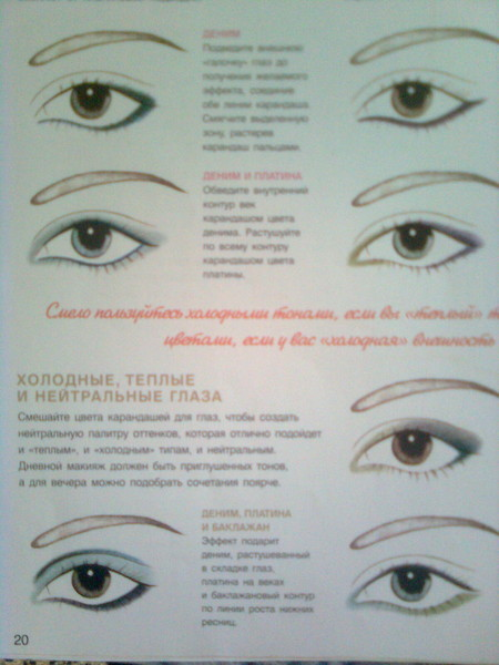 Техника макияжа глаз кольцо