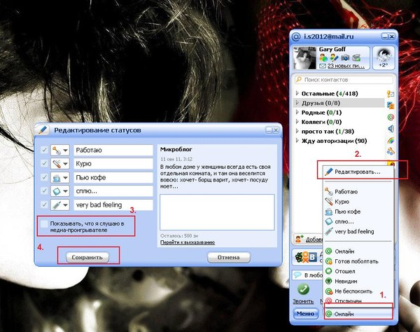 Как сделать чтобы не было видно в скайпе 753