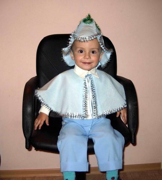 Колокольчик костюм для мальчика своими руками