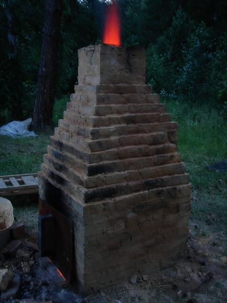 Печь для обжига керамики своими руками дровяная
