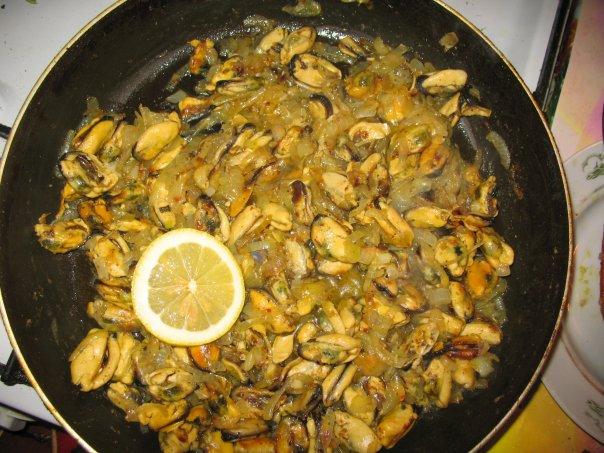 Рецепт приготовление мидии