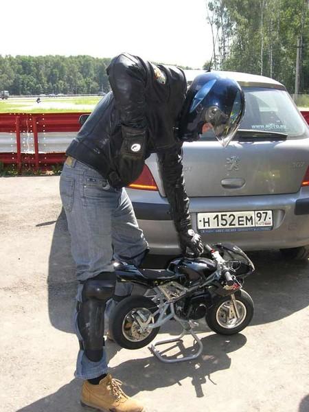 Мотоцикл детский на бензине своими руками