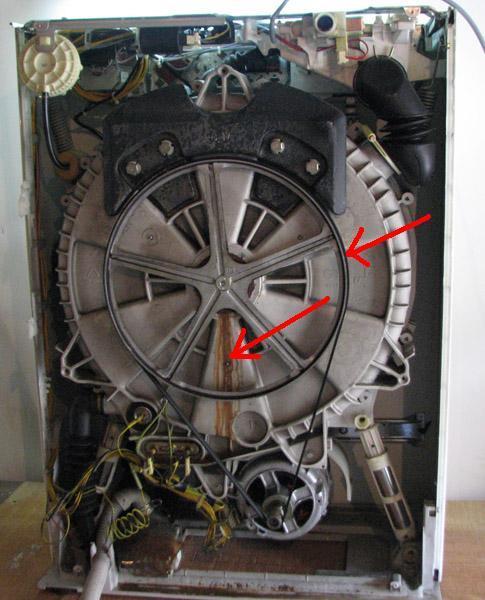Замена подшипников в стиральной машине zanussi