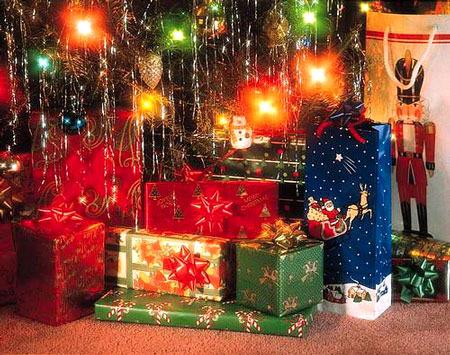 Подарки на новый год