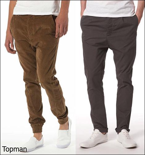 Зауженные брюки, казалось, были на пике своего сезона в коллекциях весна-зи