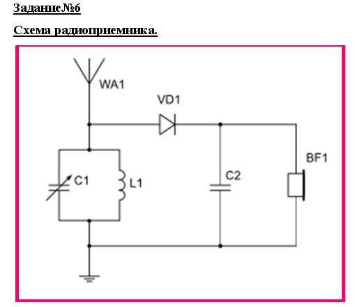 Самый простой детекторный приемник