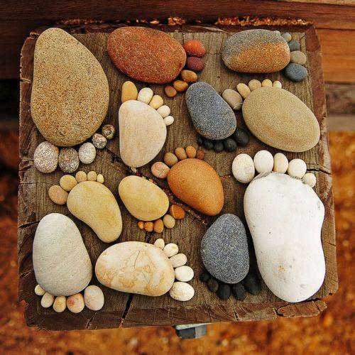 Что можно сделать из камушек своими руками фото